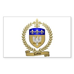 LEGACY Family Crest Rectangle Decal