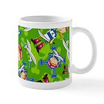 Cute Bandana Pirate Girl Coffee Mug