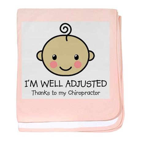 Well-Adjusted Baby (Med) Infant Blanket