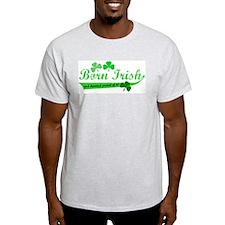 Born Irish Ash Grey T-Shirt