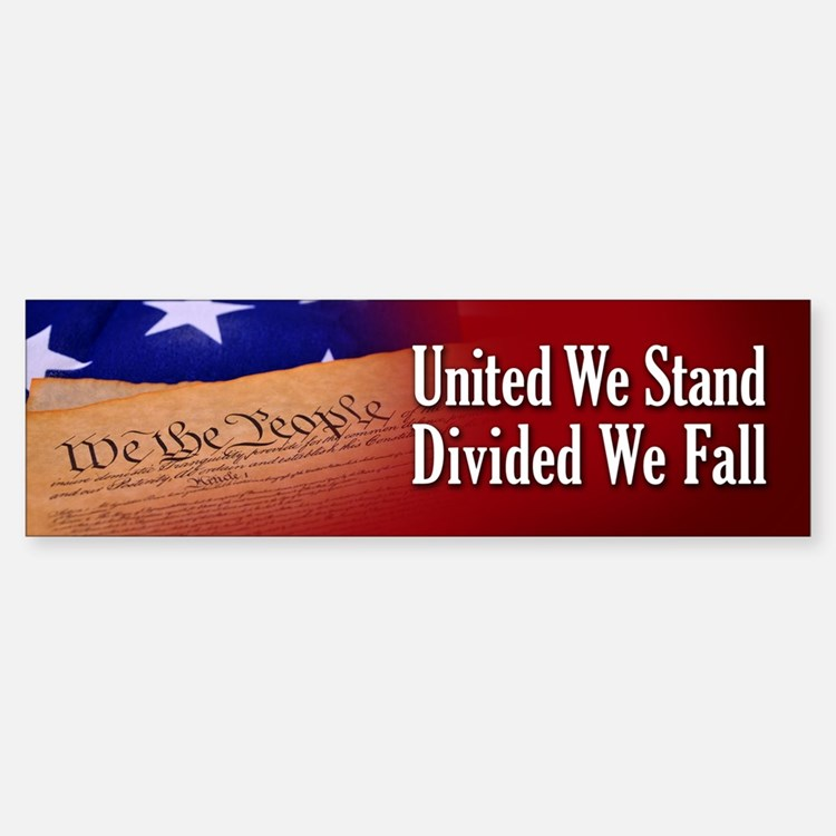 We The People Sticker (Bumper)