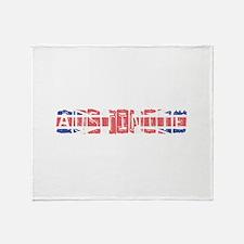 Austinite Throw Blanket