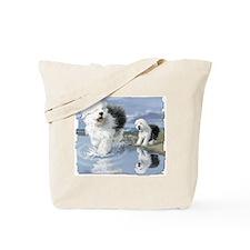 OES at the beache Tote Bag