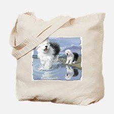 OES at the beache Tote Bag