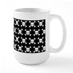 Pirate Skull and Crossbone Large Coffee Mug