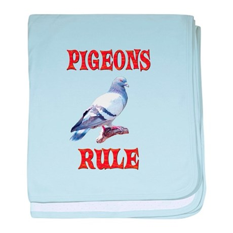 Pigeon Infant Blanket