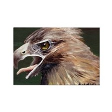 Golden Eagle Rectangle Magnet