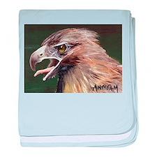 Golden Eagle Infant Blanket