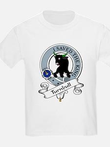 Turnbull Clan Badge Kids T-Shirt