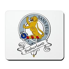 Sutherland Clan Badge Mousepad