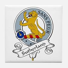 Sutherland Clan Badge Tile Coaster