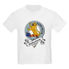 Sutherland Clan Badge Kids T-Shirt