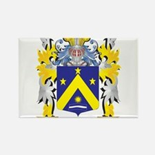 Sonnier Family Crest - Coat of Arms Magnets