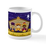 Cute Three Nativity Kings Coffee Mug