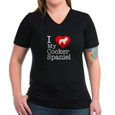 I Love My Cocker Spaniel Shirt