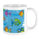 Adorably Cute Tropical Fish Coffee Mug
