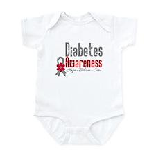 Diabetes Flower Infant Bodysuit