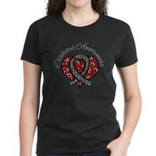 Diabetes Mosaic Ribbon Tee