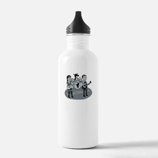 Allen Shrugged Rocks! Water Bottle