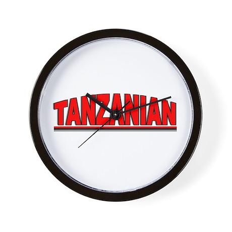 """Tanzanian"" Wall Clock"