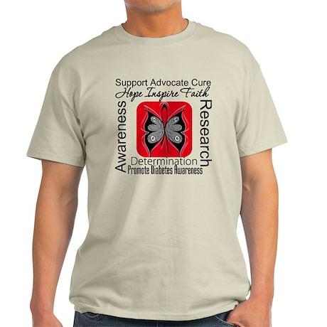 Diabetes Hope Inspire Light T-Shirt