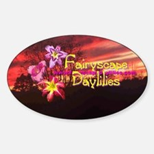 Fairyscape Daylilies Decal
