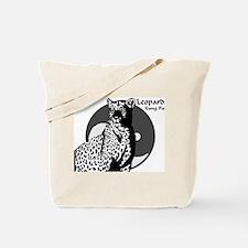 Leopard Kung Fu Logo Tote Bag