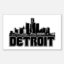 Detroit Skyline Decal