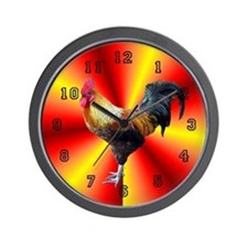 Rooster Wall Clock 10inch