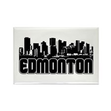 Edmonton Skyline Rectangle Magnet