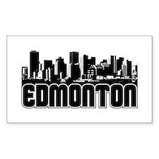 Edmonton Skyline Decal