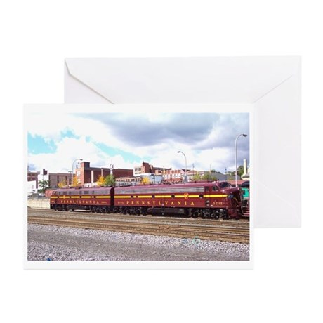 Juniata Terminal PRR Greeting Cards (Pk of 10)