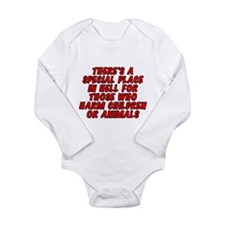There's a special place Long Sleeve Infant Bodysui