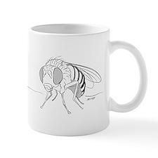 Drosophila line art Mug