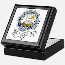 Stewart Clan Badge Keepsake Box