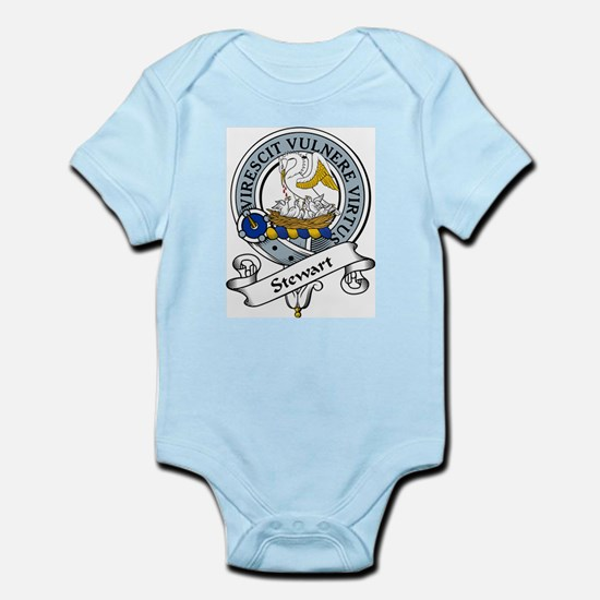 Stewart Clan Badge Infant Creeper
