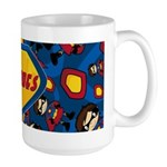 Cute Masked Superhero Coffee Mug