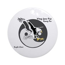 Ying Jow Pai Kung Fu Logo Ornament (Round)