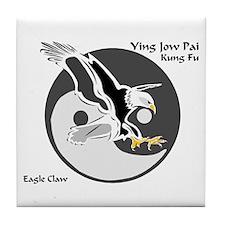 Ying Jow Pai Kung Fu Logo Tile Coaster