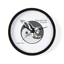 Ying Jow Pai Kung Fu Logo Wall Clock