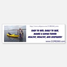 Early to Bed, Early to Rise 2 - Bumper Bumper Sticker