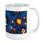 Cute Masked Superhero Mug