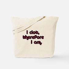 I Clot Tote Bag