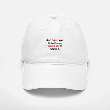 God Loves You Baseball Baseball Cap