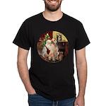 Santa's Lab (Y-lap) Dark T-Shirt