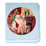 Santa's Lab (Y-lap) Infant Blanket