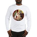 Santa's Lab (Y-lap) Long Sleeve T-Shirt
