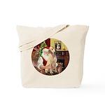 Santa's Lab (Y-lap) Tote Bag