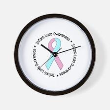 Infant Loss Awareness Wall Clock