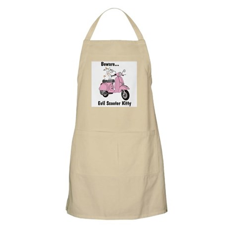 Evil Kitty PINK BBQ Apron